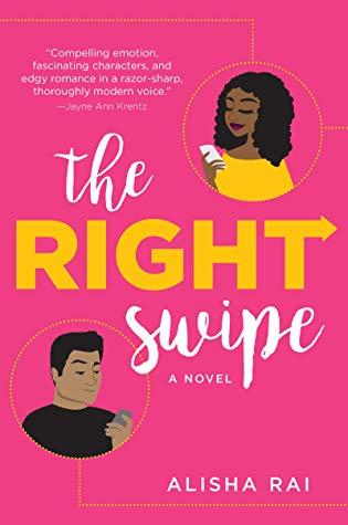 The Right Swipe romance book cover.
