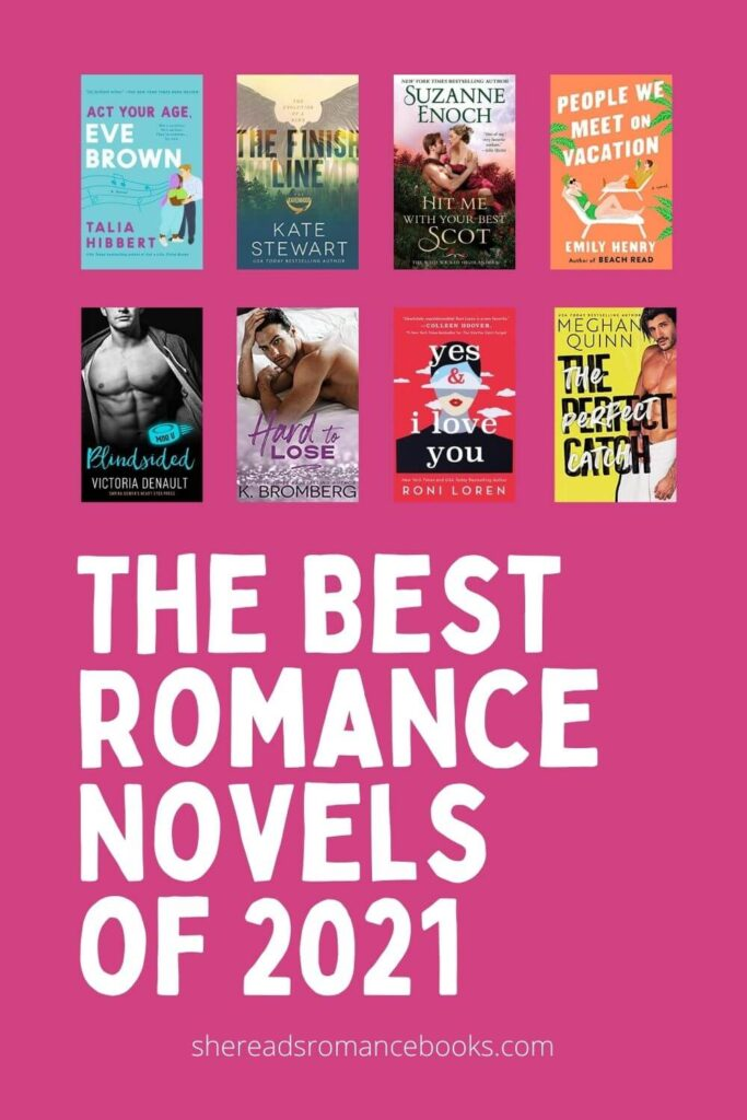 The best romance novels of 2021 book list.