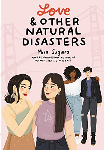 Love and Other Natural Disasters is a young adult lesbian romance book.
