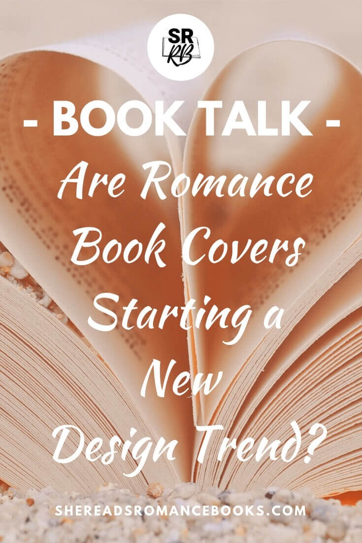 Romance book cover trend discussion.