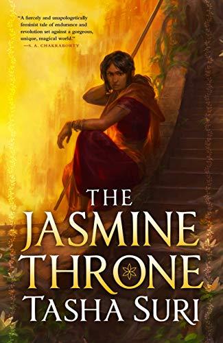 The Jasmine Throne is a new lesbian romance book.