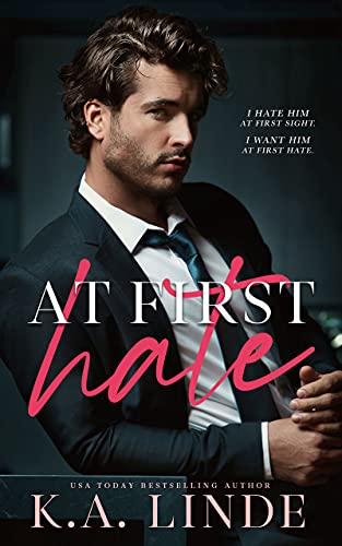 At First Hate is a new romance book release for September 2021.
