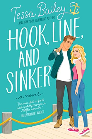 Hook Line and Sinker is a new romance book release coming March 2022.