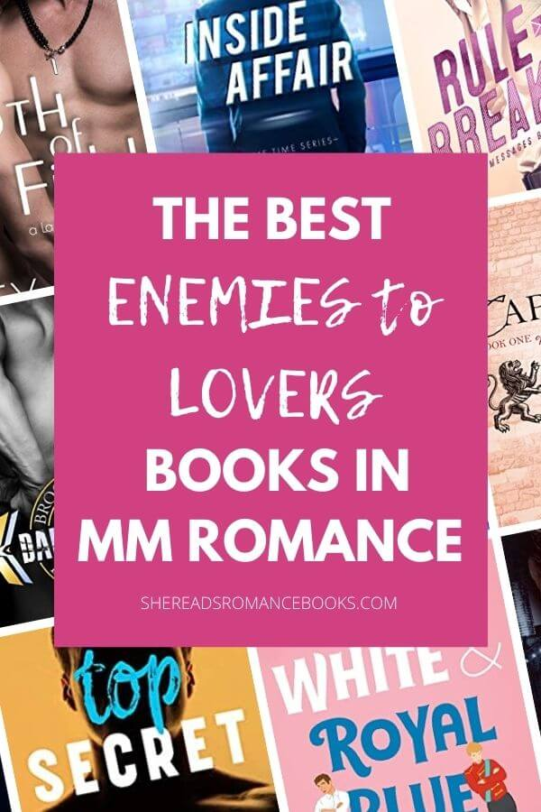 The best enemies to lovers books in MM romance list.