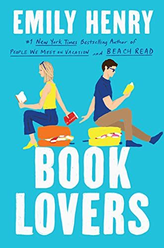 Book Lovers is a May 2022 new romance book release.