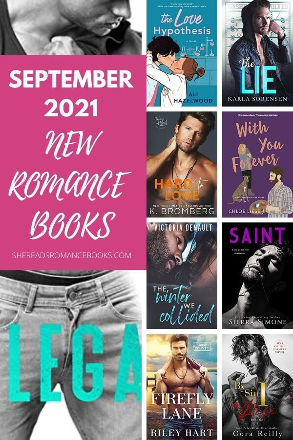 Check out this book list of the most anticipated new romance book releases coming September 2021.