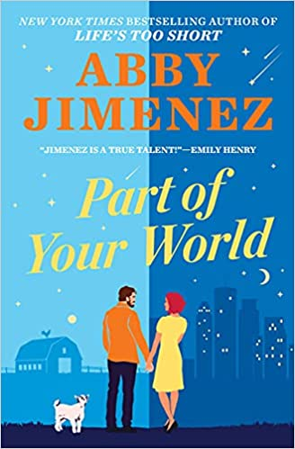 Part of Your World is an April 2022 new romance book release.