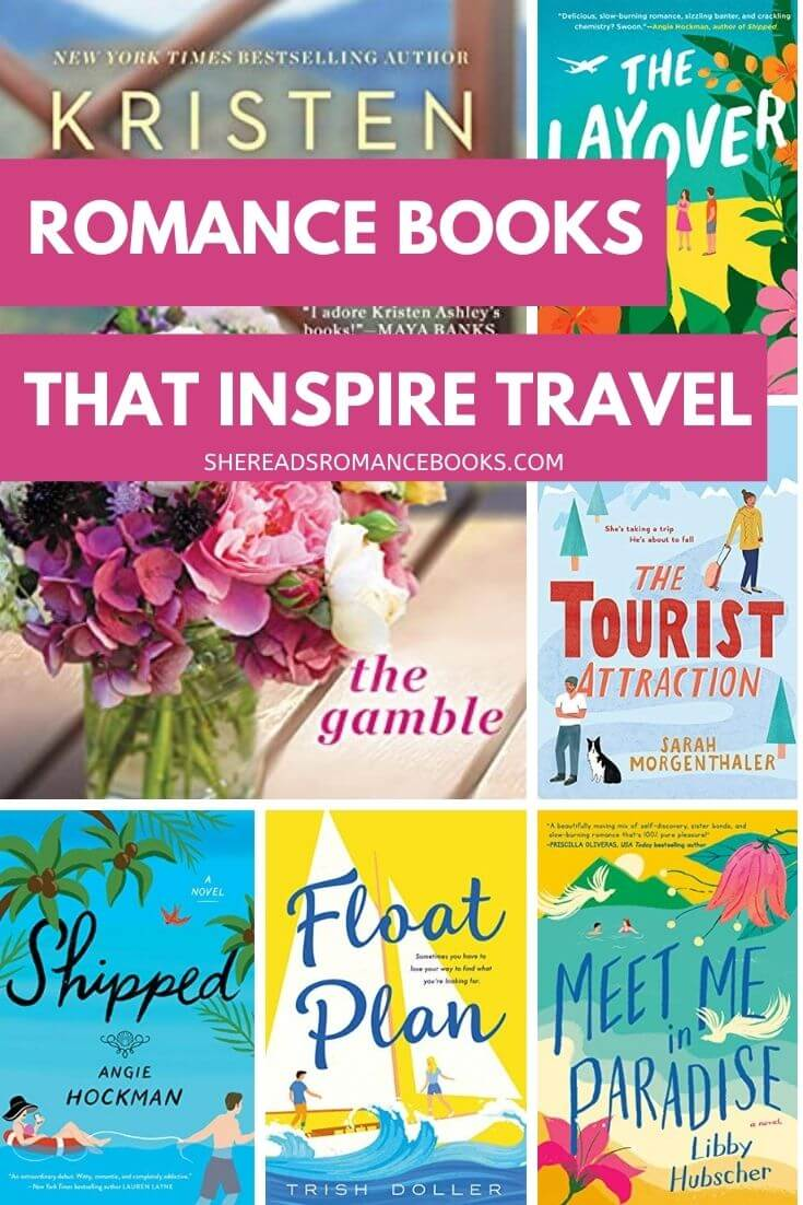 Check out this book list of the best romance books that inspire travel for the armchair tourist.