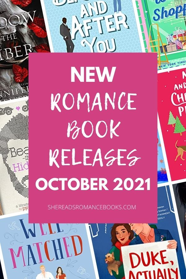Check out the most anticipated, new romance book releases coming October 2021 that romance book blogger, She Reads Romance Books can't wait to read!