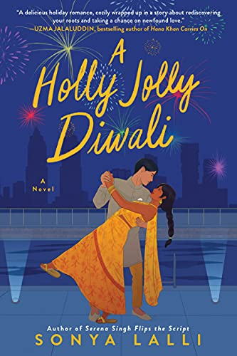 A Holly Jolly Diwali is a new Christmas romance book for 2021. Check out the full book list of new Christmas romance novels releasing this year from romance book blogger, She Reads Romance Books.