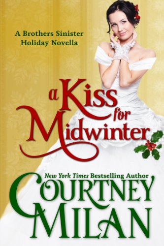 A Kiss for Midwinter is one of the historical Christmas romance novellas worth reading according to romance book blogger, She Reads Romance Books.