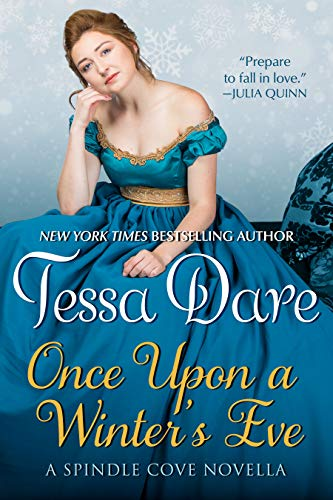Once Upon a Winter's Eve is one of the Christmas romance novellas worth reading according to romance book blogger, She Reads Romance Books.