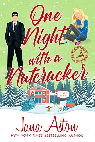 One Night With a Nutcracker is one of the new Christmas romance novellas for 2021.
