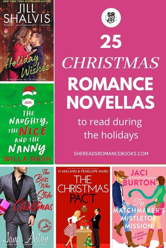 Check out the book list of Christmas romance novellas from romance book blogger, She Reads Romance Books to find the best romantic novellas worth reading this holiday season.