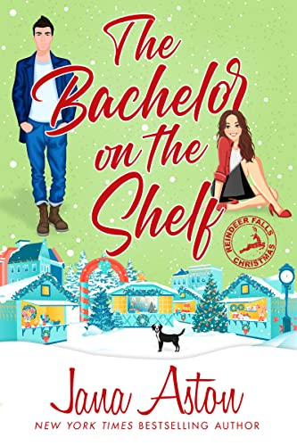 The Bachelor On the Shelf is one of the new Christmas romance novellas for 2021.