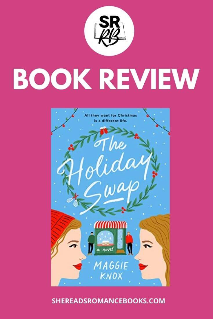 Check out She Reads Romance Books' book review of the Christmas romance, The Holiday Swap by Maggie Knox.